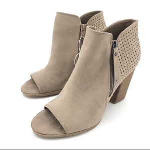 Universal Thread Open Toe Booties Size 11